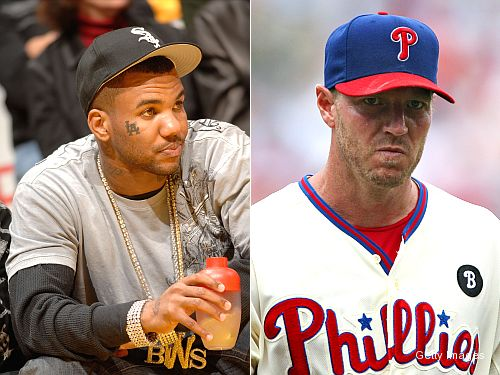 Rapper Game rocks rhymes about Roy Halladay on new album