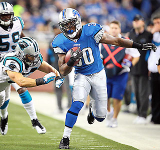 Kevin Smith the latest RB to shred Panthers D, won't be the last