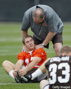 Goalposts continue to move in Colt McCoy concussion story