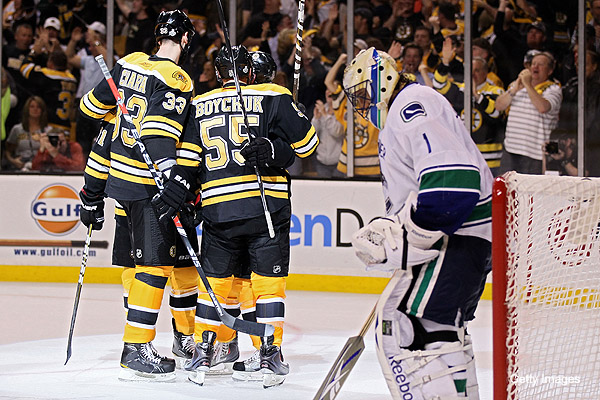 Canucks try to explain 8-1 Game 3 embarrassment by Bruins