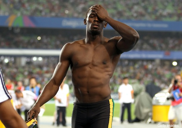 Video: Usain Bolt's shocking DQ ends three-year reign in 100