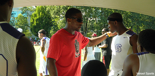 Video: Patrick Peterson at the Nike 7ON Tournament