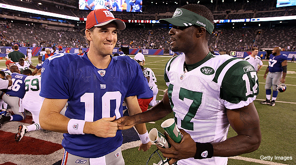 Hurricane Irene effects felt at Jets-Giants game