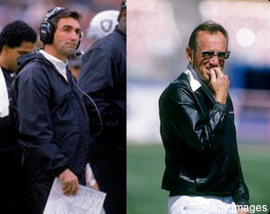 Mike Shanahan once ordered Elvis Grbac to throw at Al Davis' head