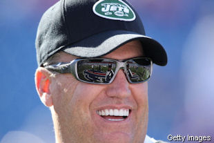Evil Rex Ryan is now lying to Jim Leonhard's wife