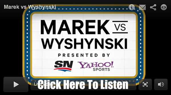 Marek vs. Wyshynski Radio: Goalies, Crosby, John Garrett on VAN/CHI