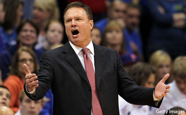 Bill Self goes on epic rant following Tuesday's sloppy home win
