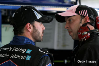Knaus told Johnson to damage 'Dega car if he won; NASCAR is now getting involved