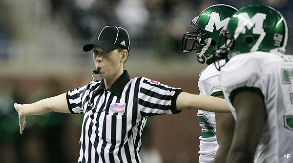NFL expects female officials sooner than later