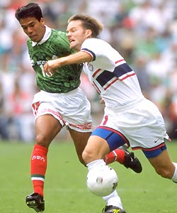 Pavel Pardo and Eric Wynalda