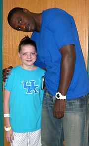 Patrick Patterson, face of UK