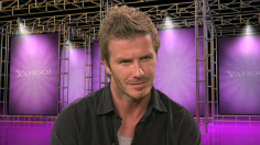 David Beckham on style inspiration