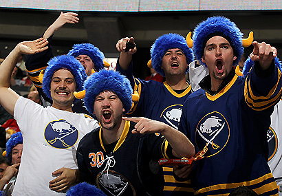 Buffalo Sabres fans