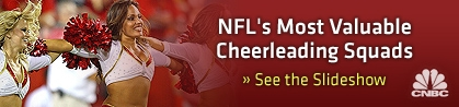 The NFL's most valuable cheerleaders