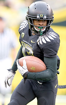 Oregon cornerback Cliff Harris is definitely out for the season opener against LSU.