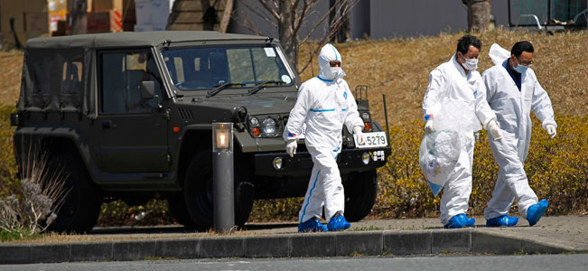 Japan ups nuke crisis severity to match Chernobyl