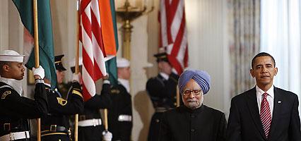 Obama, Singh