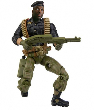 Alvin Greene gets his action figure