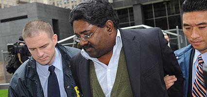 **File** FBI arrests Galleon founder, Raj Rajaratnam