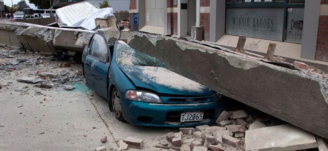 Gempa Bumi New Zealand