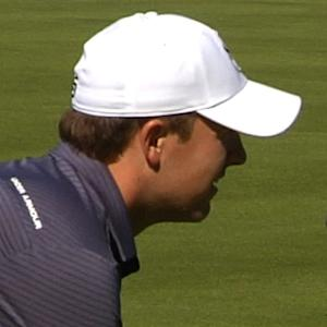 Jordan Spieth finishes front 9 with par at AT&T Pebble Beach