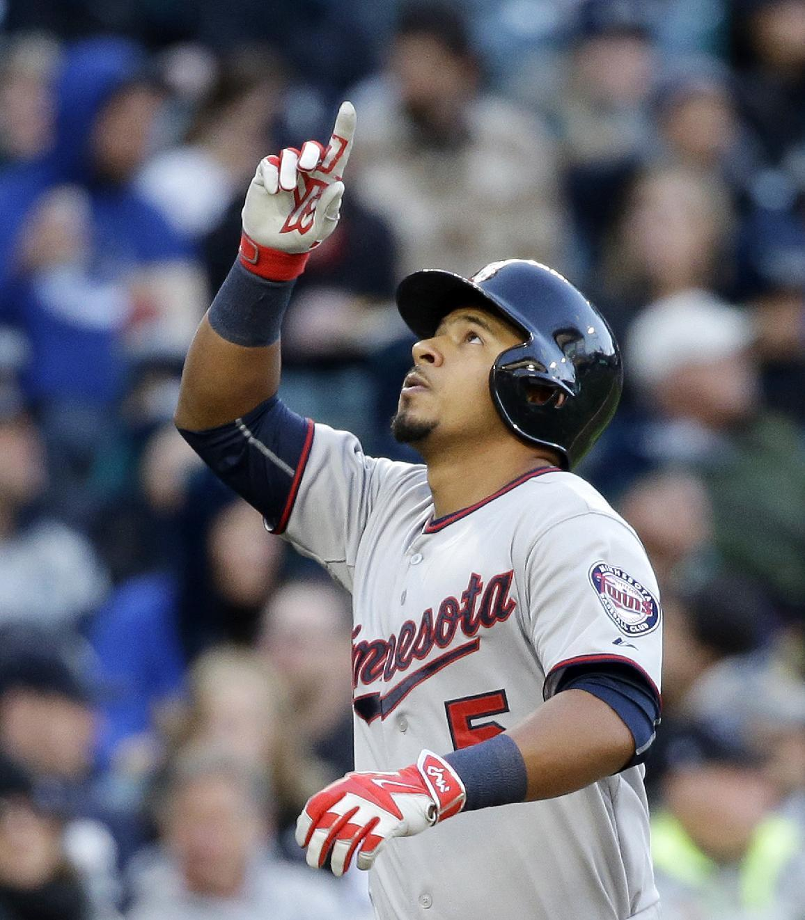 Escobar's HR leads Twins' balanced 8-5 win over Seattle