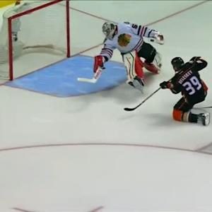 Beleskey cleans up rebound for OT winner