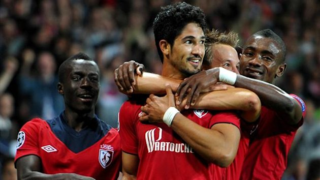 FOOTBALL 2012 Lille - De Melo