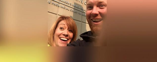 Story behind parents' 'extraordinary' viral selfie