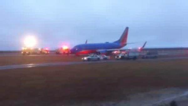 Plane turns into mud at Long Island Airport