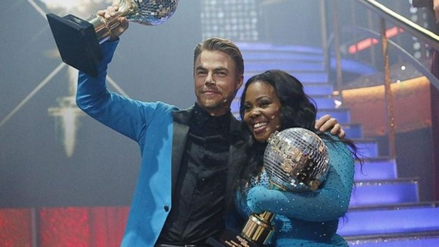 Amber Riley Wins Season 17 of 'Dancing With the Stars' (ABC News)
