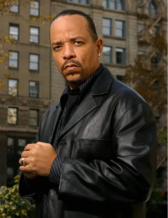 "Ice-T stars as Det. Odafin ""Fin"" Tutuola in Law & Order: SVU on NBC."