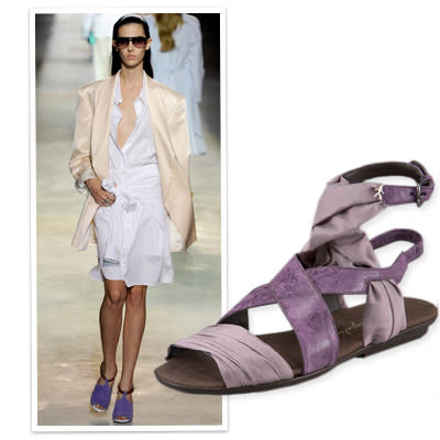 4. Get Noticed in Candy-Colored Sandals