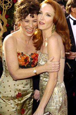 Jane Kaczmarek and Amy Yasbeck 56th Annual Emmy Awards - 9/19/2004