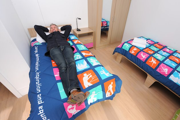 London Olympic Village – in pictures