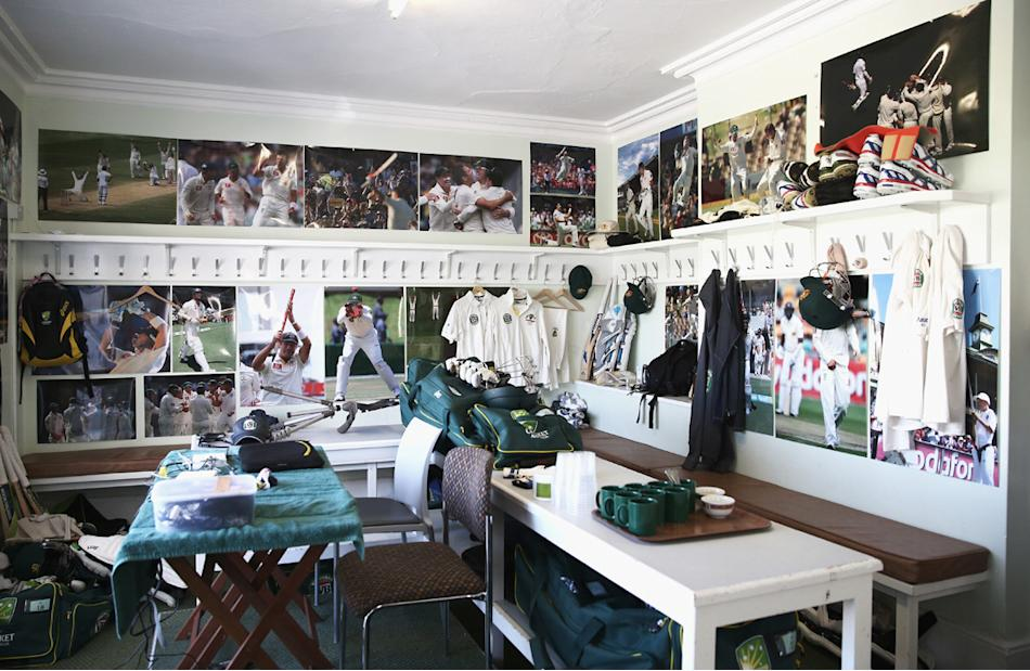 Inside the Australian Dressing Room