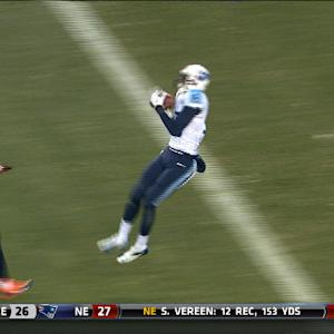 Tennessee Titans wide receiver Justin Hunter 41-yard TD reception