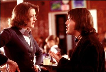 Joan Cusack and Jack Black in Paramount's The School of Rock