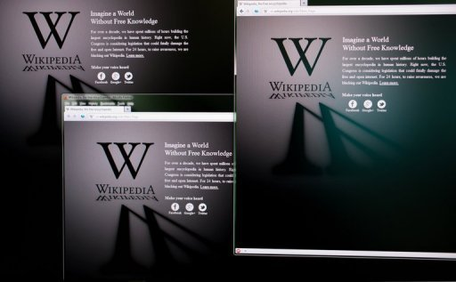 <p>The Russian-language Wikipedia website shut down Tuesday and symbolically blacked out its logo in protest at a bill that would allow the state to block access to blacklisted websites.</p>