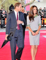 Here's a sweet sight to brighten a drizzly day: Kate Middleton and Prince William taking a trip to the cinema. Aww! BUT this isn't a romantic outing as part of their wedding anniversary plans – the Duke and Duchess of Cambridge are taking a special trip to the British Film Institute at Southbank