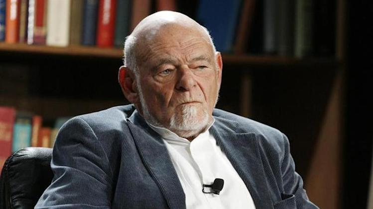 Sam Zell speaks at the 2009 Milken Institute Global Conference in Beverly Hills