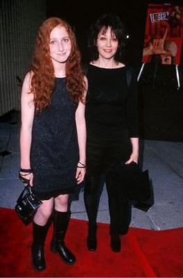 Amy Heckerling with her daughter Molly at the AVCO Theater premiere of Columbia's Loser