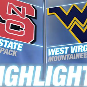 NC State vs West Virginia | 2014-15 ACC Men's Basketball Highlights