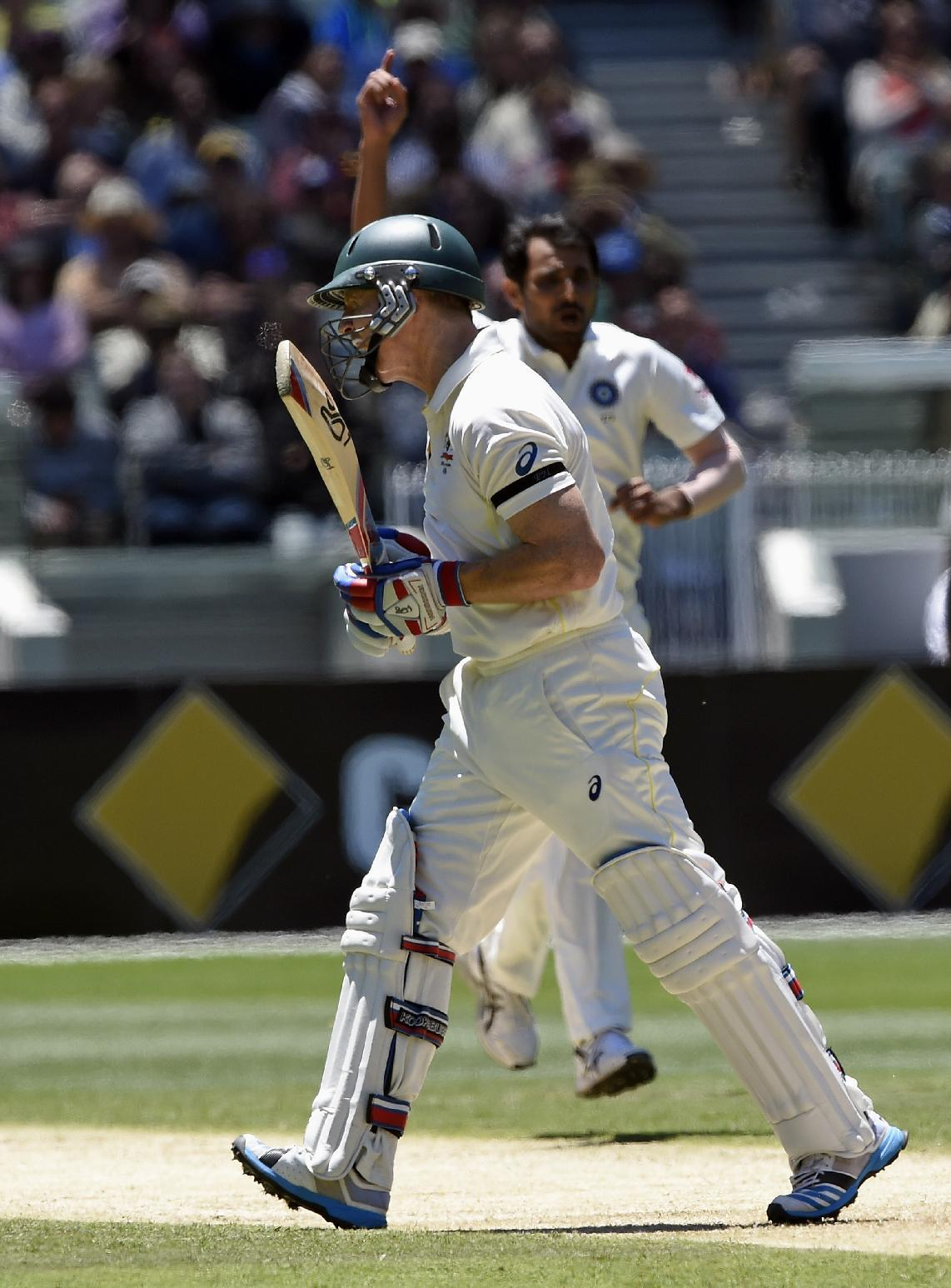 Australia 174-3 at tea on day 1 of 3rd test vs India