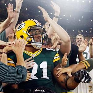 Green Bay Packers tight end Andrew Quarless 6-yard TD reception