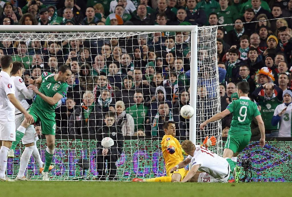 Long the Irish hero in Polish draw