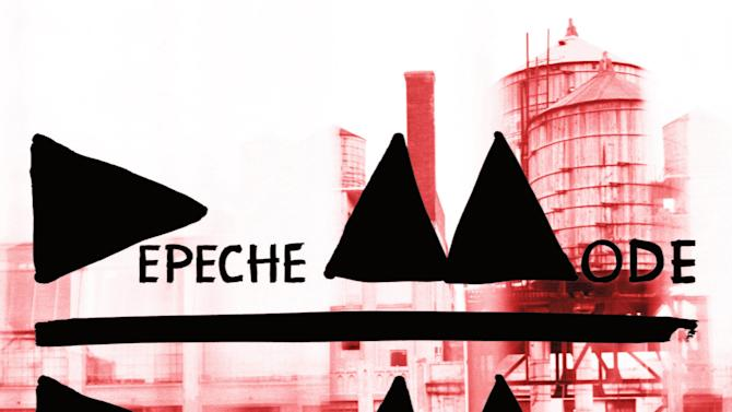 """This CD cover image released by Columbia shows """"Delta Machine,"""" by Depeche Mode. (AP Photo/Columbia)"""