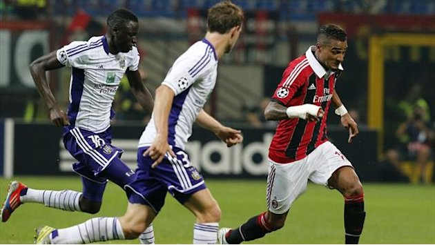 Champions League - Matchpack: Anderlecht v AC Milan
