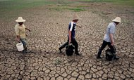 China: Rockets Used To Battle Severe Drought