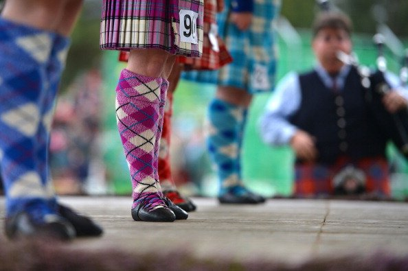 Highland dancer compete at the Braemar Highland Games at The Princess Royal and Duke of Fife Memorial Park on September 1, 2012 in Braemar, Scotland. The Braemar Gathering is the most famous of the Hi